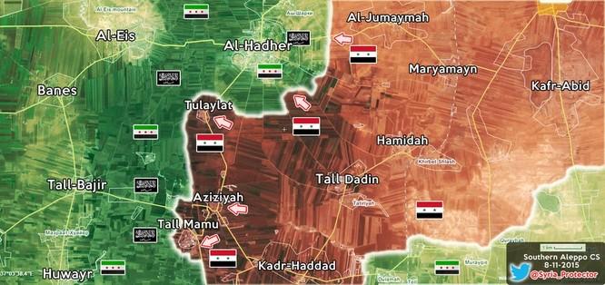 Quân chính phủ Syria huyết chiến giành thế chủ động trên chiến trường ảnh 4