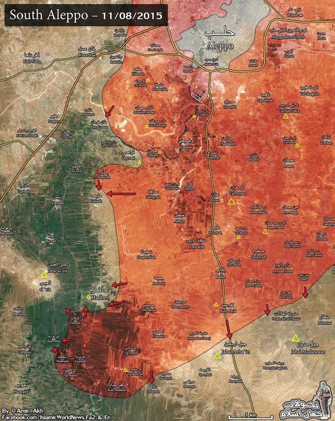 Quân chính phủ Syria huyết chiến giành thế chủ động trên chiến trường ảnh 5