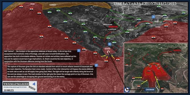 Quân chính phủ Syria huyết chiến giành thế chủ động trên chiến trường ảnh 7