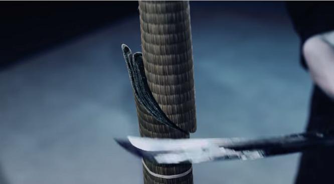 Kiếm thủ Nhật Bản chém đôi quả bóng bay với tốc độ 160 km/h ảnh 1