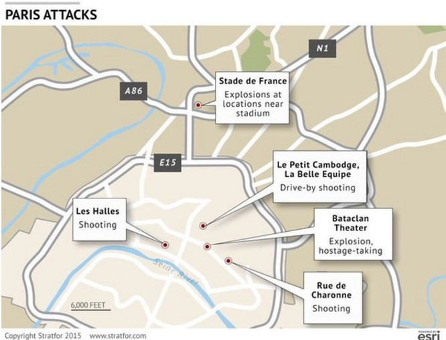 Toàn cảnh vụ khủng bố đẫm máu kinh hoàng tại Paris ảnh 3