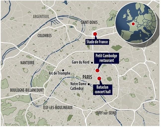 Toàn cảnh vụ khủng bố đẫm máu kinh hoàng tại Paris ảnh 1