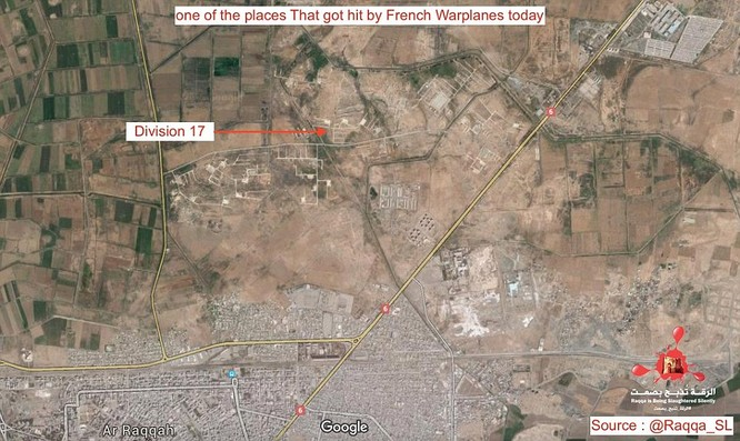 Video chiến đấu cơ Pháp trút bão lửa báo thù IS ảnh 6