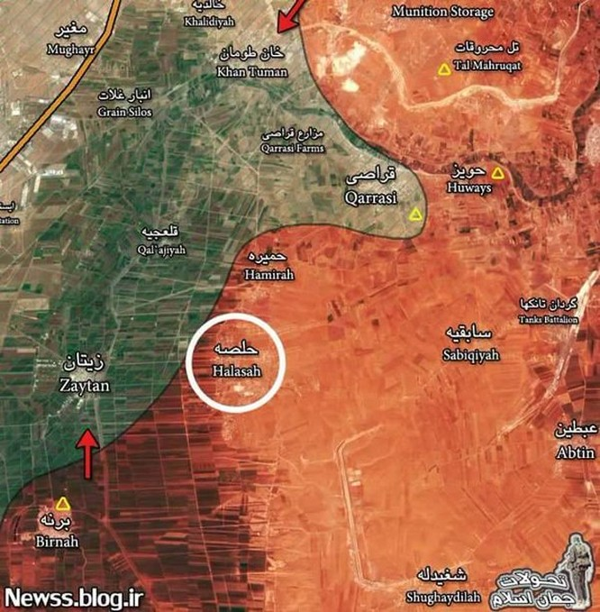 Bão lửa dồn dập mọi hướng trên toàn lãnh thổ Syria ảnh 2