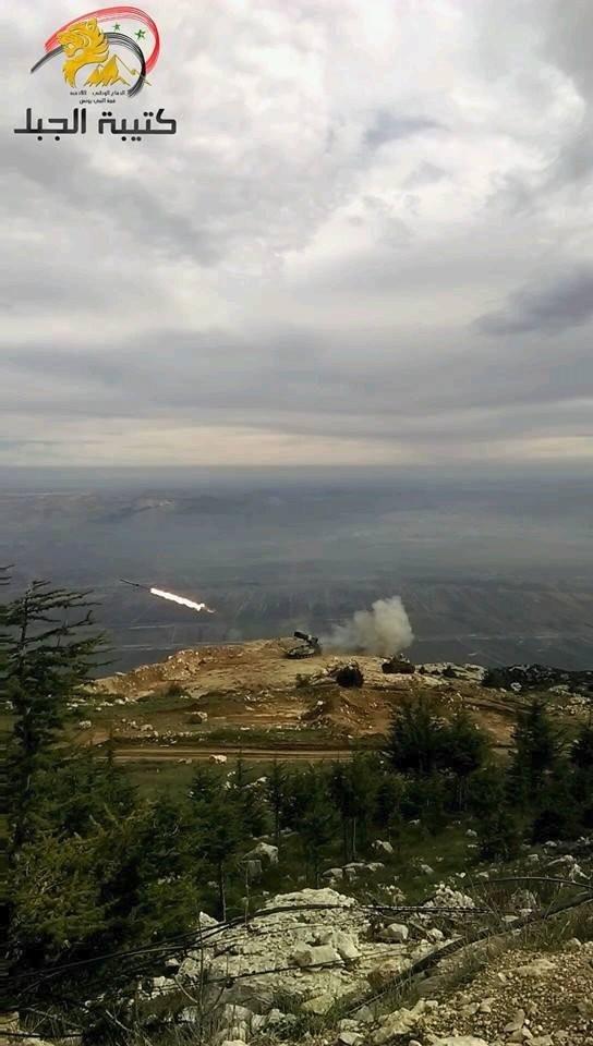 Bão lửa dồn dập mọi hướng trên toàn lãnh thổ Syria ảnh 33