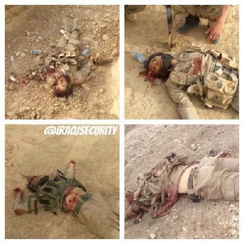 IS phản kích thảm bại, hàng chục phiến quân chết trước dân quân Shiite Iraq ảnh 1