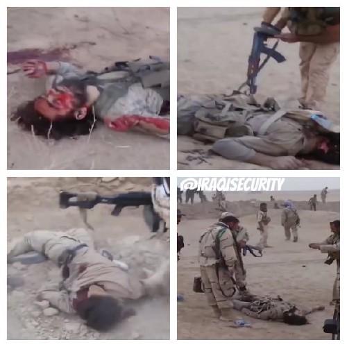IS phản kích thảm bại, hàng chục phiến quân chết trước dân quân Shiite Iraq ảnh 3