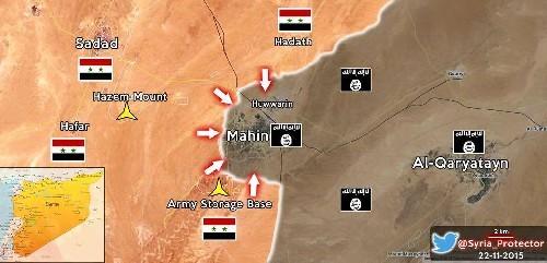 Sau hai ngày bão lửa, dân quân Syria chiếm lại thị trấn chiến lược ảnh 1