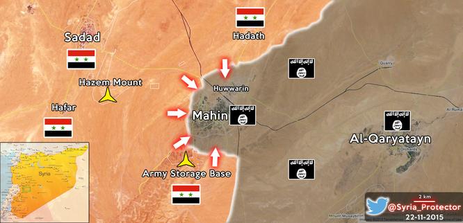 Thừa thắng, quân đội Syria chuẩn bị đánh chiếm Quraytayn ảnh 1