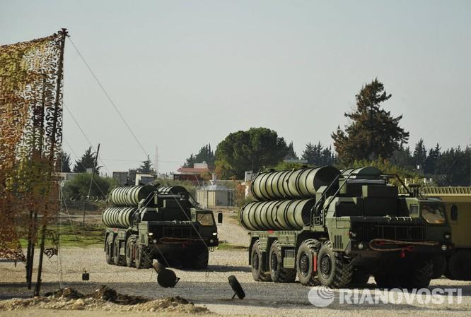 Video và ảnh triển khai hệ thống S-400 siêu hiện đại ở Syria ảnh 1
