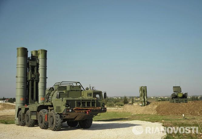 Video và ảnh triển khai hệ thống S-400 siêu hiện đại ở Syria ảnh 2