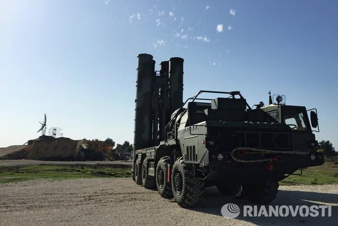 Video và ảnh triển khai hệ thống S-400 siêu hiện đại ở Syria ảnh 4