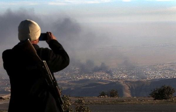 Ngày cuối của một tuần bão lửa ở Latakia. Syria ảnh 9