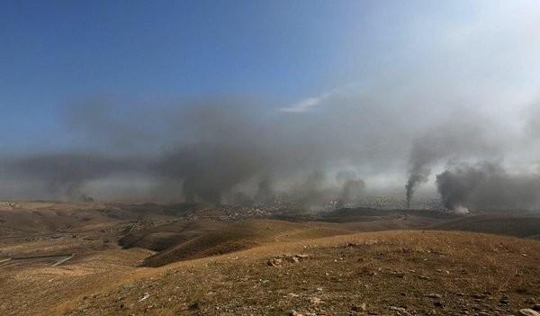 Ngày cuối của một tuần bão lửa ở Latakia. Syria ảnh 10