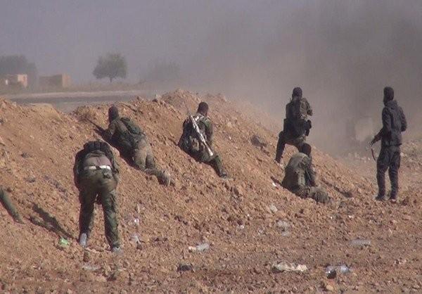 Quân đội Syria dội bão lửa IS, phương Tây suốt ruột vào cuộc ảnh 11