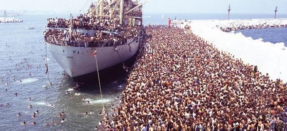Chùm ảnh: cận cảnh kinh hoàng làn sóng người nhập cư ảnh 3