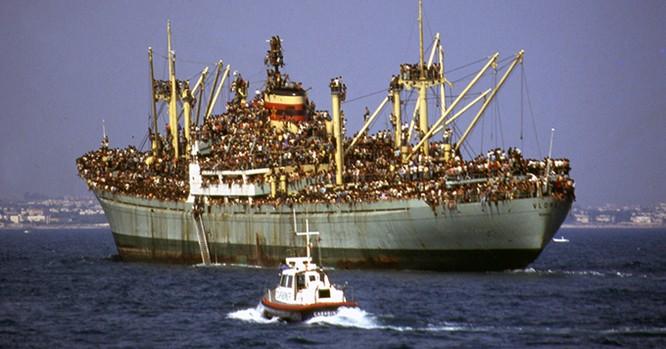 Chùm ảnh: cận cảnh kinh hoàng làn sóng người nhập cư ảnh 4