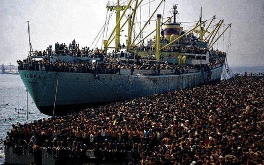 Chùm ảnh: cận cảnh kinh hoàng làn sóng người nhập cư ảnh 6