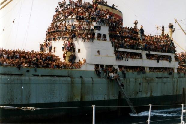 Chùm ảnh: cận cảnh kinh hoàng làn sóng người nhập cư ảnh 7
