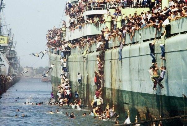 Chùm ảnh: cận cảnh kinh hoàng làn sóng người nhập cư ảnh 8
