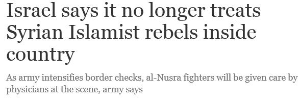 Nghi vấn Israel hỗ trợ các tổ chức Hồi giáo cực đoan ở Syria ảnh 1
