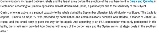 Nghi vấn Israel hỗ trợ các tổ chức Hồi giáo cực đoan ở Syria ảnh 4