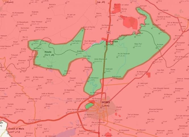 Chiến sự Syria sau hai tháng không kích dữ dội của không quân Nga (phần 2) ảnh 1