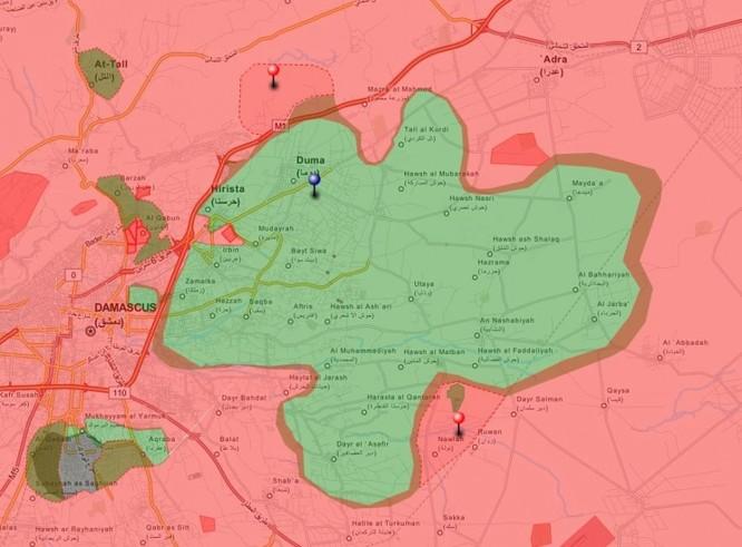 Chiến sự Syria sau hai tháng không kích dữ dội của không quân Nga (phần 2) ảnh 4