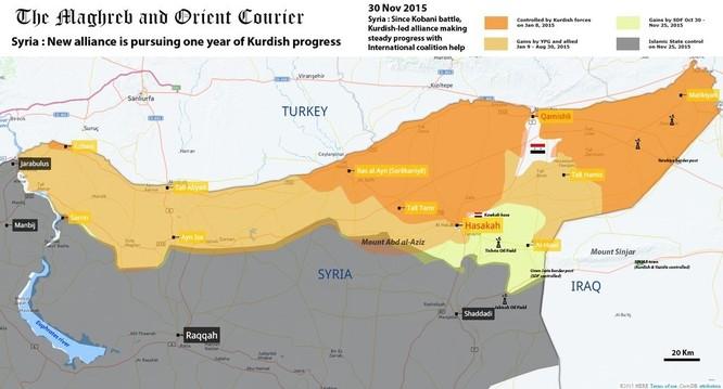 Chiến sự Syria sau hai tháng không kích dữ dội của không quân Nga (phần 2) ảnh 8