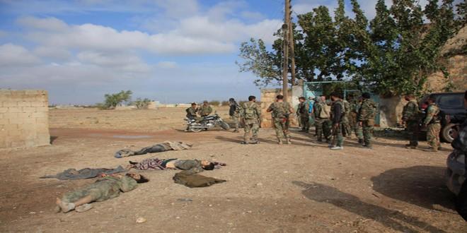 Quân đôi Syria nỗ lực tìm diệt khủng bố trên mọi chiến trường ảnh 1