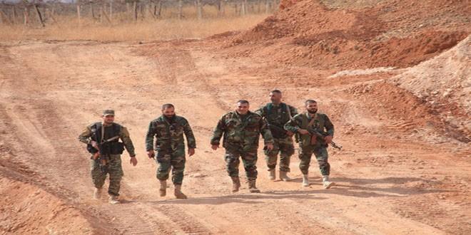 Quân đôi Syria nỗ lực tìm diệt khủng bố trên mọi chiến trường ảnh 2