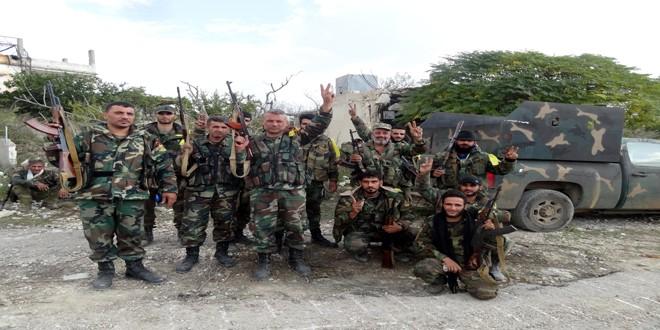 Quân đôi Syria nỗ lực tìm diệt khủng bố trên mọi chiến trường ảnh 3