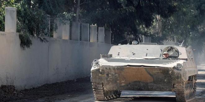 Quân đôi Syria nỗ lực tìm diệt khủng bố trên mọi chiến trường ảnh 4