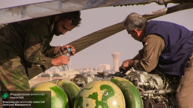 Cầu hàng không Mi-8: nguồn sống của Deir ez-Zor ảnh 2