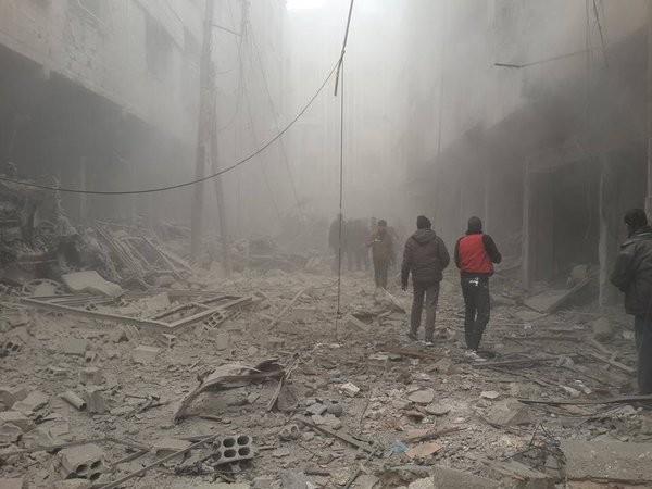 Syria dồn ép khủng bố, Nga tăng hỏa lực, nóng bỏng cuộc đấu chính trị ảnh 13
