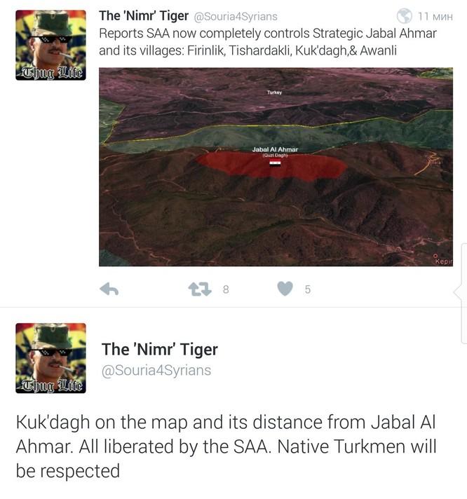 Quân đội Syria bao vây Salma, chuẩn bị đóng cửa biên giới Thổ Nhĩ Kỳ ảnh 4