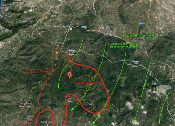 Quân đội Syria bao vây Salma, chuẩn bị đóng cửa biên giới Thổ Nhĩ Kỳ ảnh 6