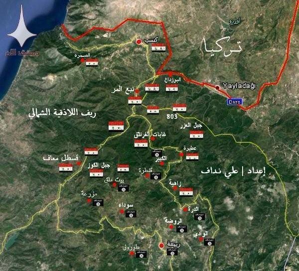Quân đội Syria đánh chiếm Nuba, vây thành phố Salma trong vòng lửa ảnh 2
