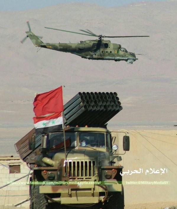 Quân đội Syria đánh chiếm Nuba, vây thành phố Salma trong vòng lửa ảnh 9