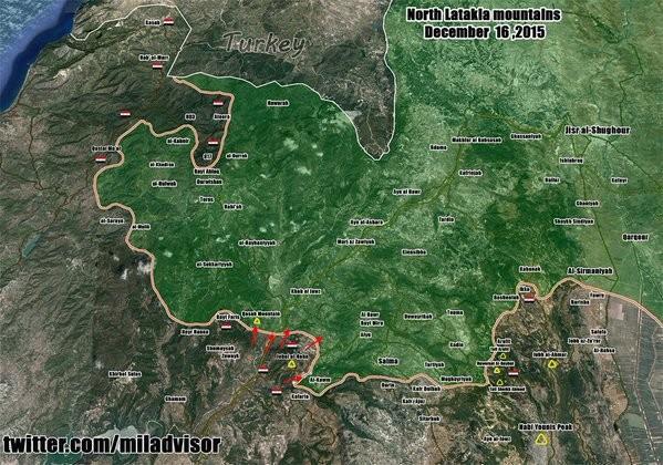 Quân đội Syria đánh ác liệt ở Latakia, tiến được 150 km ảnh 14