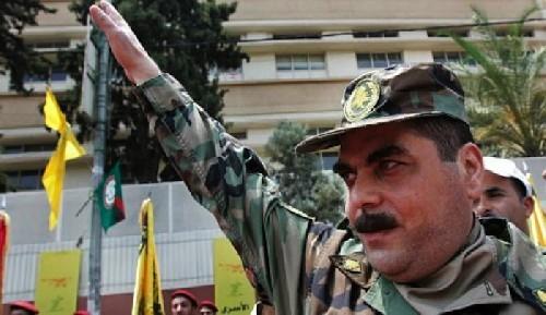 Thủ lĩnh Samir Quntar của lực lượng PLA trên cao nguyên Golan