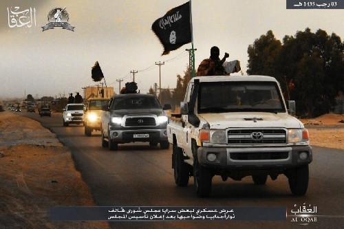 Chùm video, ảnh về chiến sự chống khủng bố nổi bật trong ngày ảnh 3