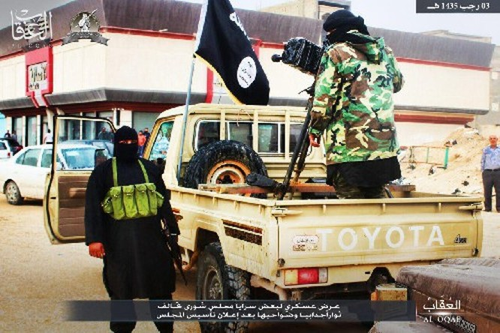 Chùm video, ảnh về chiến sự chống khủng bố nổi bật trong ngày ảnh 15