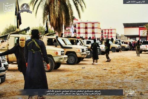Chùm video, ảnh về chiến sự chống khủng bố nổi bật trong ngày ảnh 17