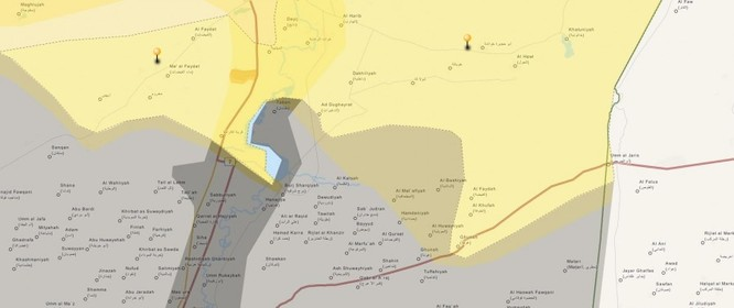 Tấn công với T-90 ở Aleppo, thế phong tỏa biên giới Thổ Nhĩ Kỳ của quân đội Syria rõ dần ảnh 23
