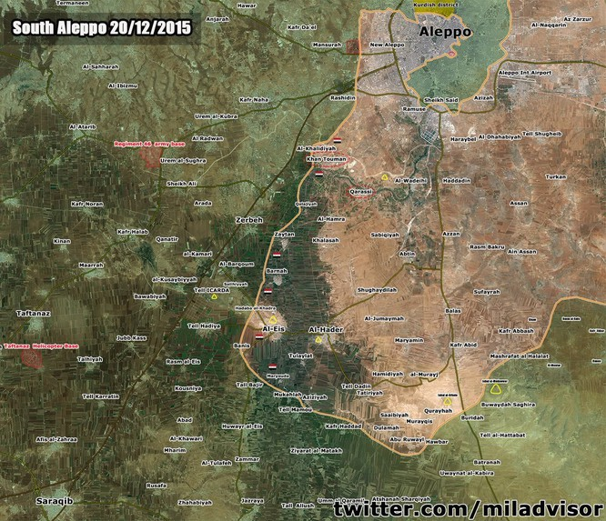 Tấn công với T-90 ở Aleppo, thế phong tỏa biên giới Thổ Nhĩ Kỳ của quân đội Syria rõ dần ảnh 1