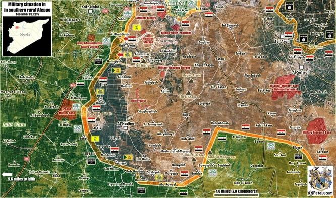 Tấn công với T-90 ở Aleppo, thế phong tỏa biên giới Thổ Nhĩ Kỳ của quân đội Syria rõ dần ảnh 2