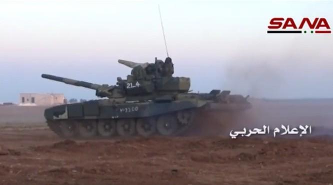 Tấn công với T-90 ở Aleppo, thế phong tỏa biên giới Thổ Nhĩ Kỳ của quân đội Syria rõ dần ảnh 4