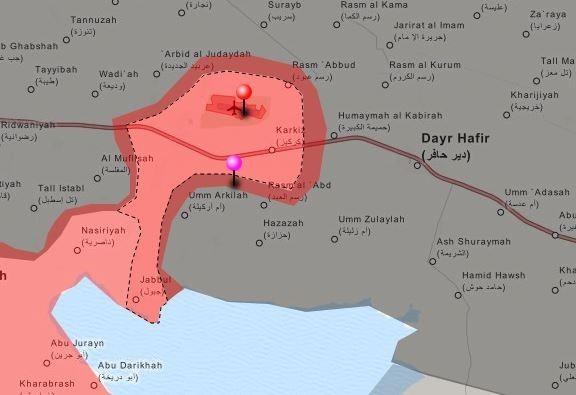 Tấn công với T-90 ở Aleppo, thế phong tỏa biên giới Thổ Nhĩ Kỳ của quân đội Syria rõ dần ảnh 8