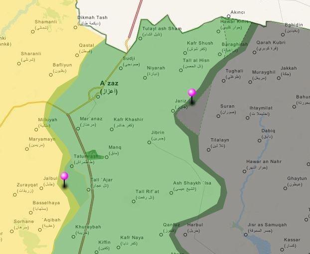 Tấn công với T-90 ở Aleppo, thế phong tỏa biên giới Thổ Nhĩ Kỳ của quân đội Syria rõ dần ảnh 11